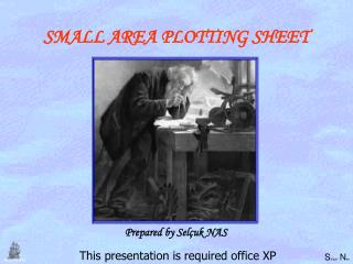 SMALL AREA PLOTTING SHEET