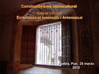 Puebla, Pue.  25 marzo 2010