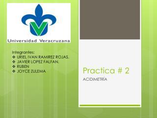 Practica # 2