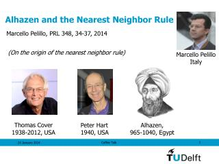 Alhazen and the Nearest Neighbor Rule