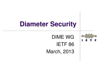 Diameter Security