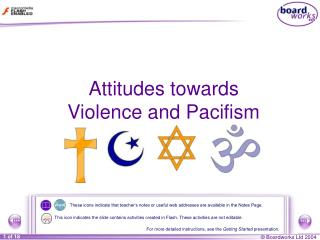 Attitudes towards Violence and Pacifism