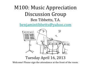 Tuesday April 16, 2013