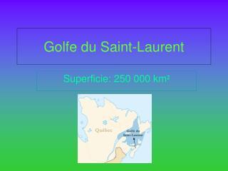Golfe du Saint-Laurent