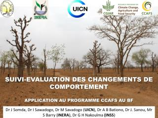 SUIVI-EVALUATION DES CHANGEMENTS DE COMPORTEMENT APPLICATION AU PROGRAMME CCAFS AU BF
