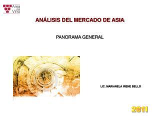 ANÁLISIS DEL MERCADO DE ASIA