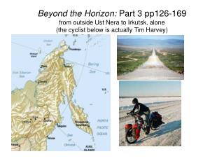 """Colin bicycled 750km along the """"Road of Bones"""" to get from Ust Nera to Yakutsk"""
