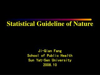 An editorial of Nature Medicine  (2005) <Statistically significant> :