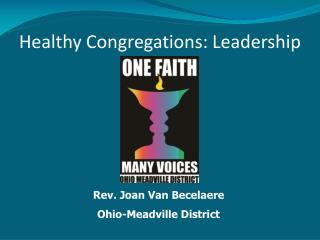 Healthy Congregations: Leadership