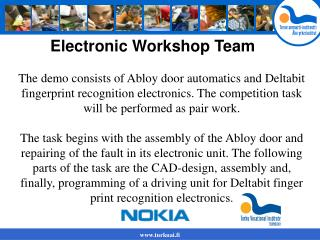 Electronic Workshop Team