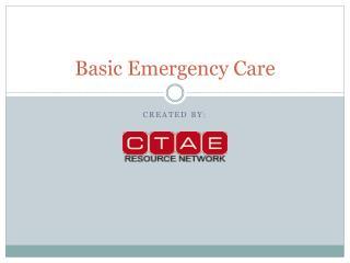 Basic Emergency Care