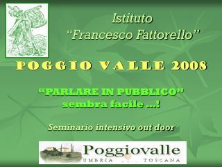 """Istituto  """"Francesco Fattorello"""""""
