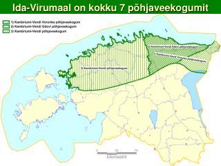 Ida-Virumaal on kokku 7 põhjaveekogumit