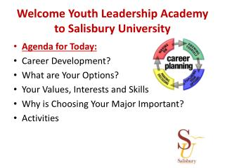 Welcome Youth Leadership Academy to Salisbury University