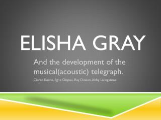 Elisha Gray