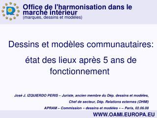 Dessins et modèles communautaires: état des lieux après 5 ans de fonctionnement
