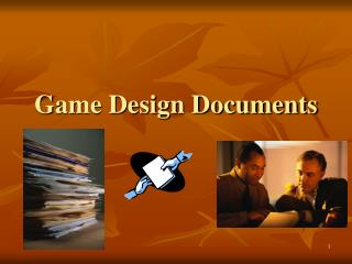 Game Design Documents