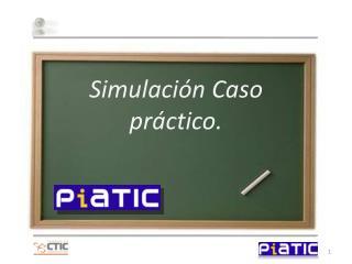 Simulación Caso  práctico.