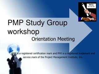 PMP Study Group workshop