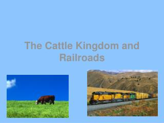 The Cattle Kingdom and Railroads