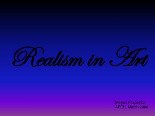 Realism in Art
