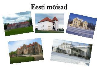 Eesti mõisad