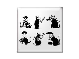 banksy stencils