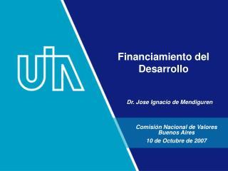 Financiamiento del Desarrollo