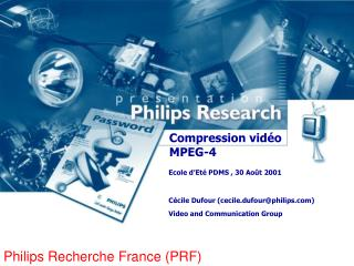 Compression vidéo MPEG-4