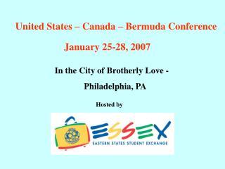 United States � Canada � Bermuda Conference
