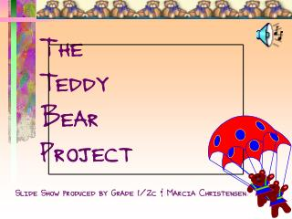 The  Teddy  Bear  Project