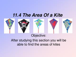 11.4 The Area Of a Kite
