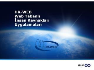 HR-WEB Web Tabanl?  ?nsan Kaynaklar? Uygulamalar?