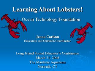 Learning About Lobsters
