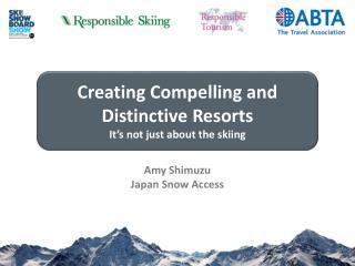 Amy  Shimuzu Japan Snow Access