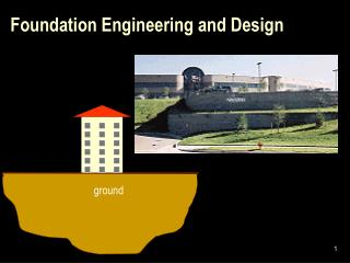 Foundation Engineering and Design