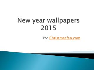 Latest wallpapers of new year