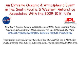 An Extreme Oceanic & Atmospheric Event  in the South Pacific & Western Antarctica