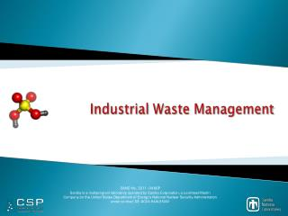 Industrial Waste Management