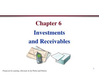 Investments and Receivables