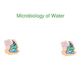 Microbiology of Water