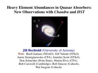 Heavy Element Abundances in Quasar Absorbers: New Observations with  Chandra  and  HST