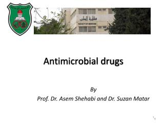 By  Prof. Dr. Asem Shehabi and Dr. Suzan Matar