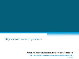 Replace with name of presenter