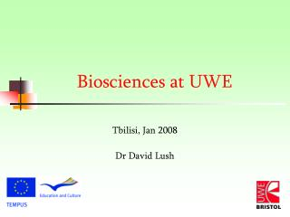 Biosciences at UWE