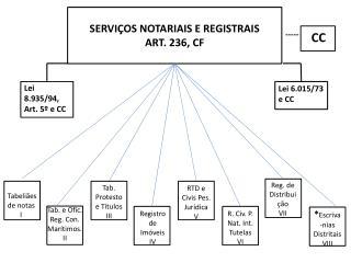 SERVIÇOS NOTARIAIS E REGISTRAIS  ART. 236, CF