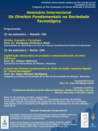 Pontif�cia Universidade Cat�lica do Rio Grande do Sul Faculdade de Direito