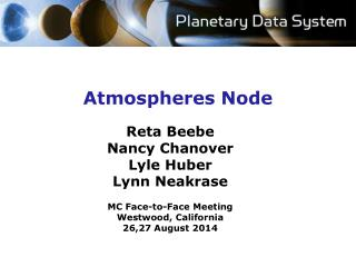 Atmospheres  Node