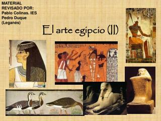 El arte egipcio (II)