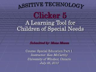 Clicker 5